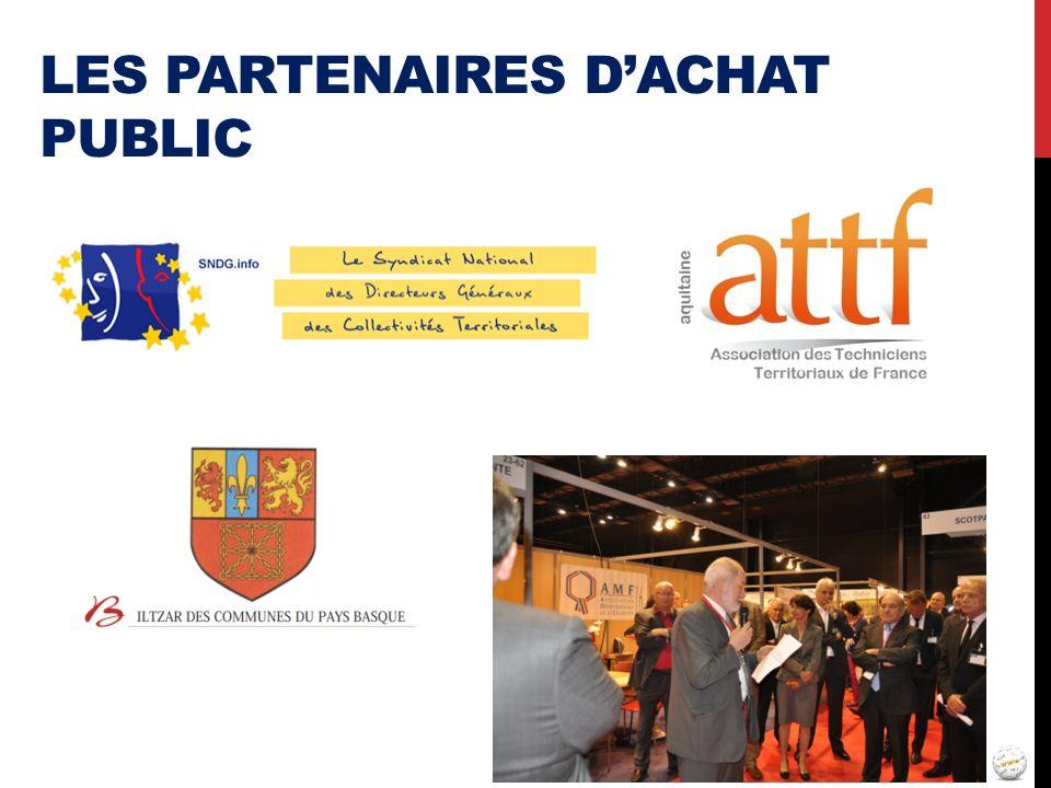 Les partenaires d'achat public