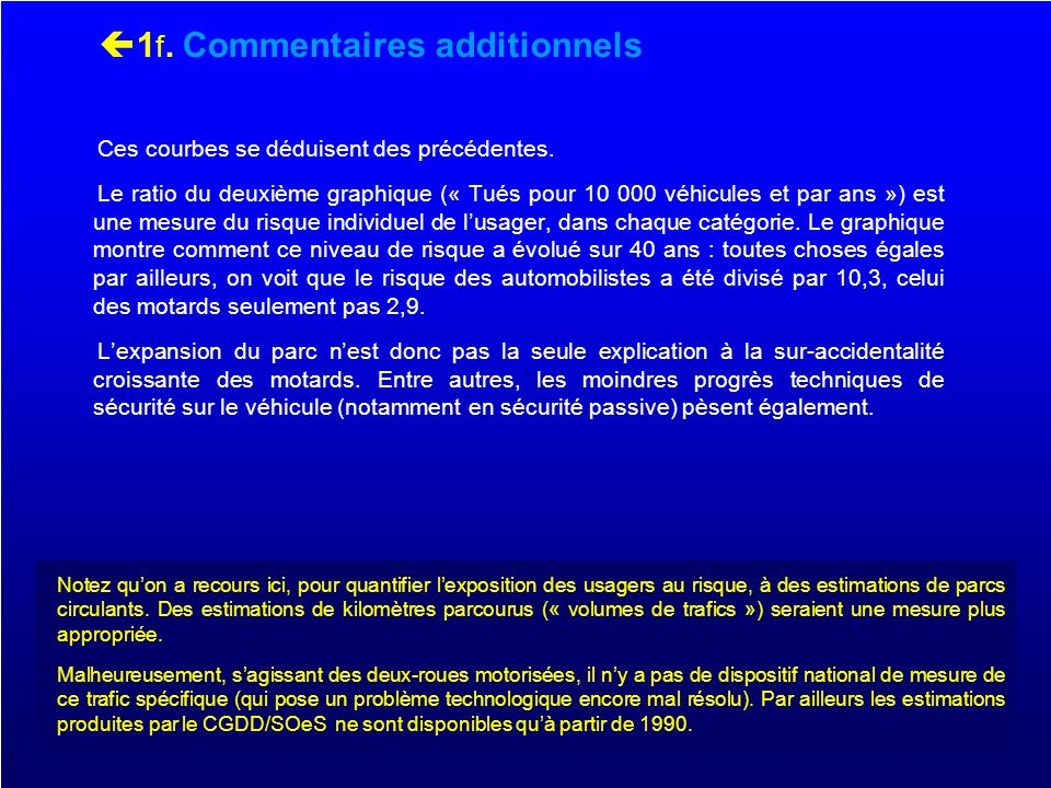 1f. Commentaires additionnels