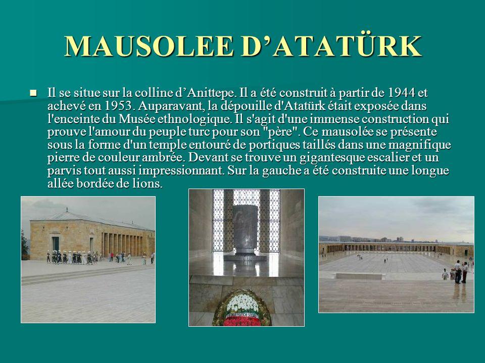 MAUSOLEE D'ATATÜRK