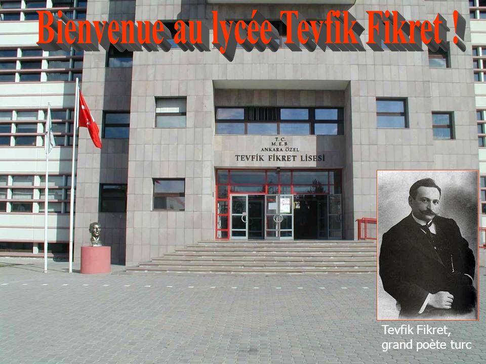 Bienvenue au lycée Tevfik Fikret !