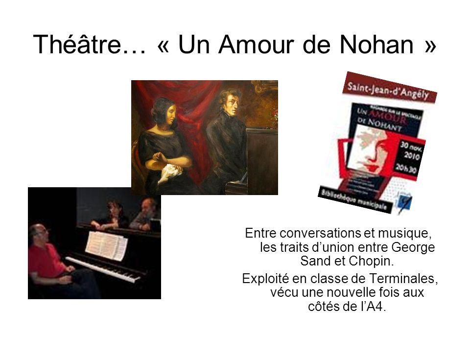 Théâtre… « Un Amour de Nohan »