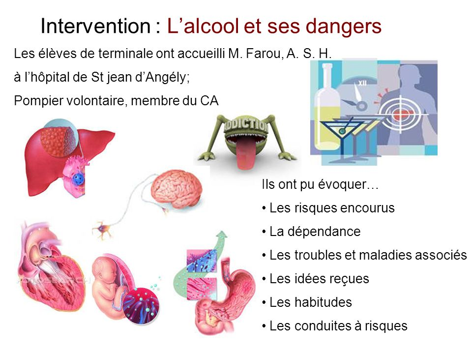 Intervention : L'alcool et ses dangers