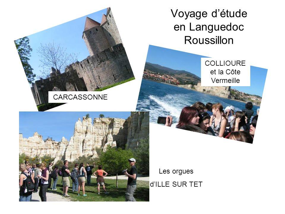 Voyage d'étude en Languedoc Roussillon