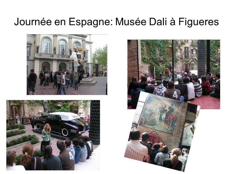 Journée en Espagne: Musée Dali à Figueres