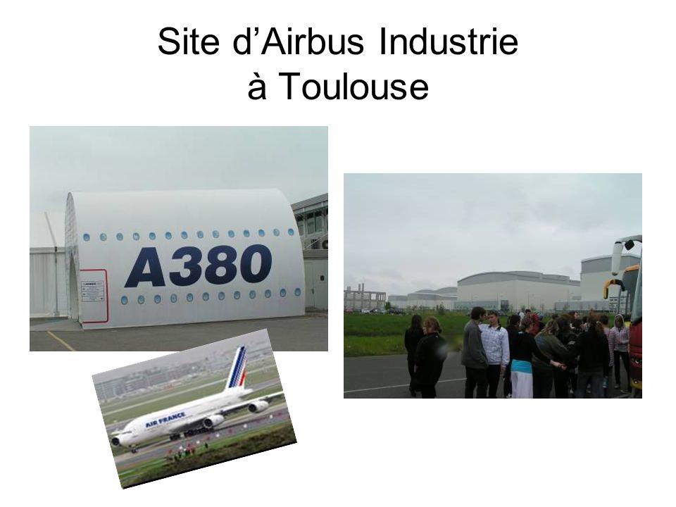 Site d'Airbus Industrie à Toulouse