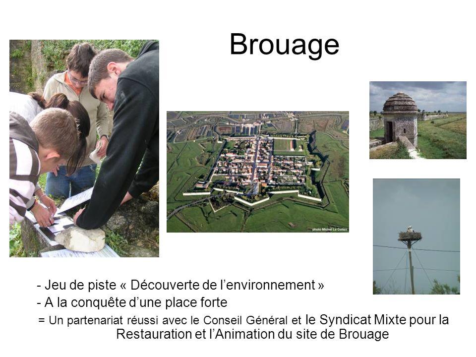 Brouage - Jeu de piste « Découverte de l'environnement »