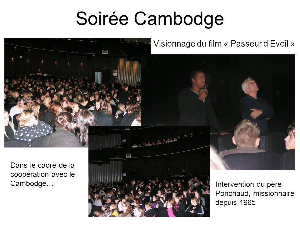 Soirée Cambodge Visionnage du film « Passeur d'Eveil »