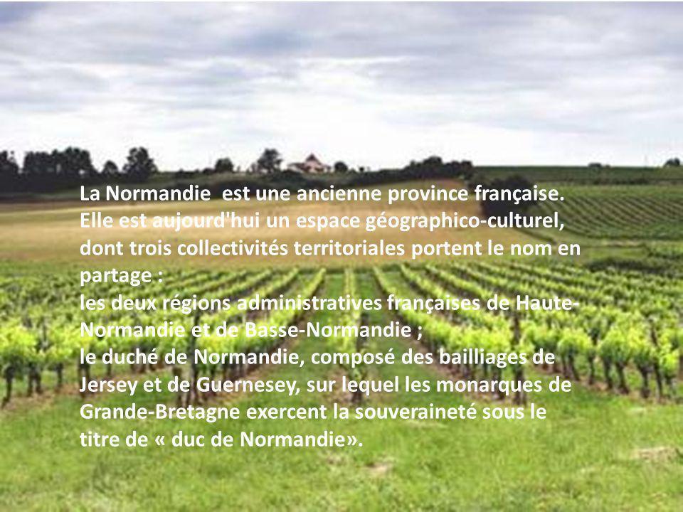 La Normandie est une ancienne province française