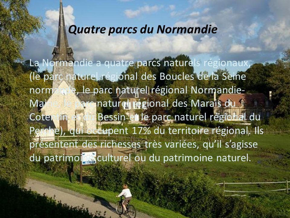 Quatre parcs du Normandie