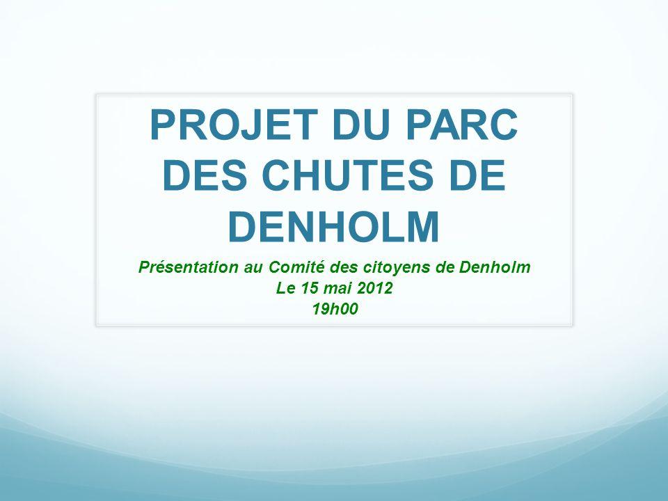 PROJET DU PARC DES CHUTES DE DENHOLM