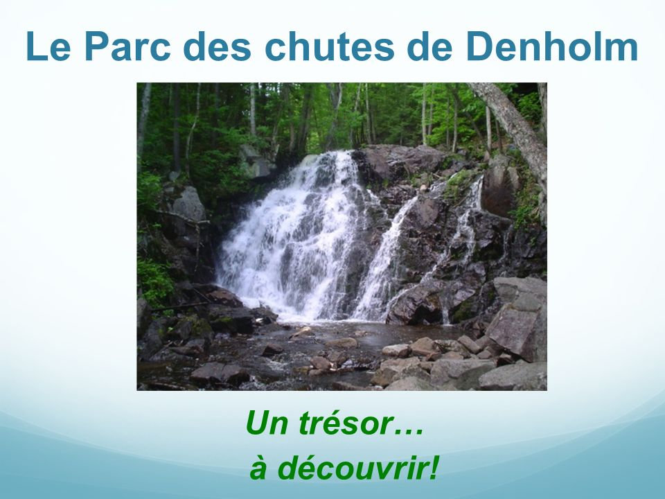 Le Parc des chutes de Denholm