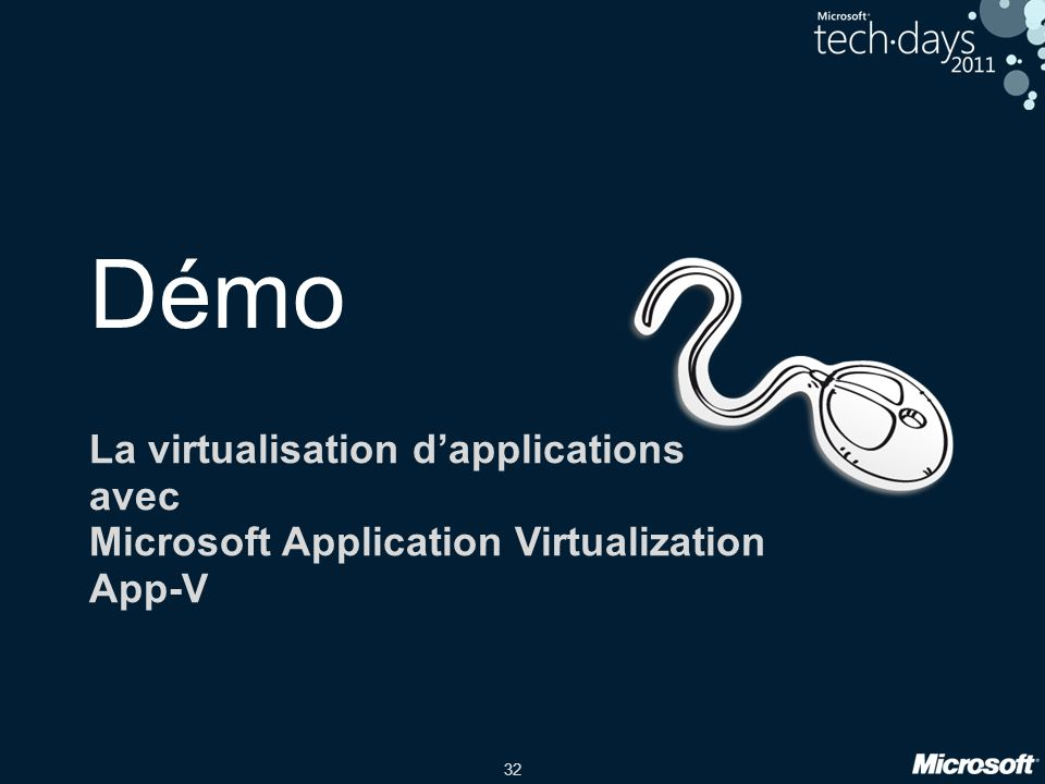 Démo La virtualisation d'applications avec