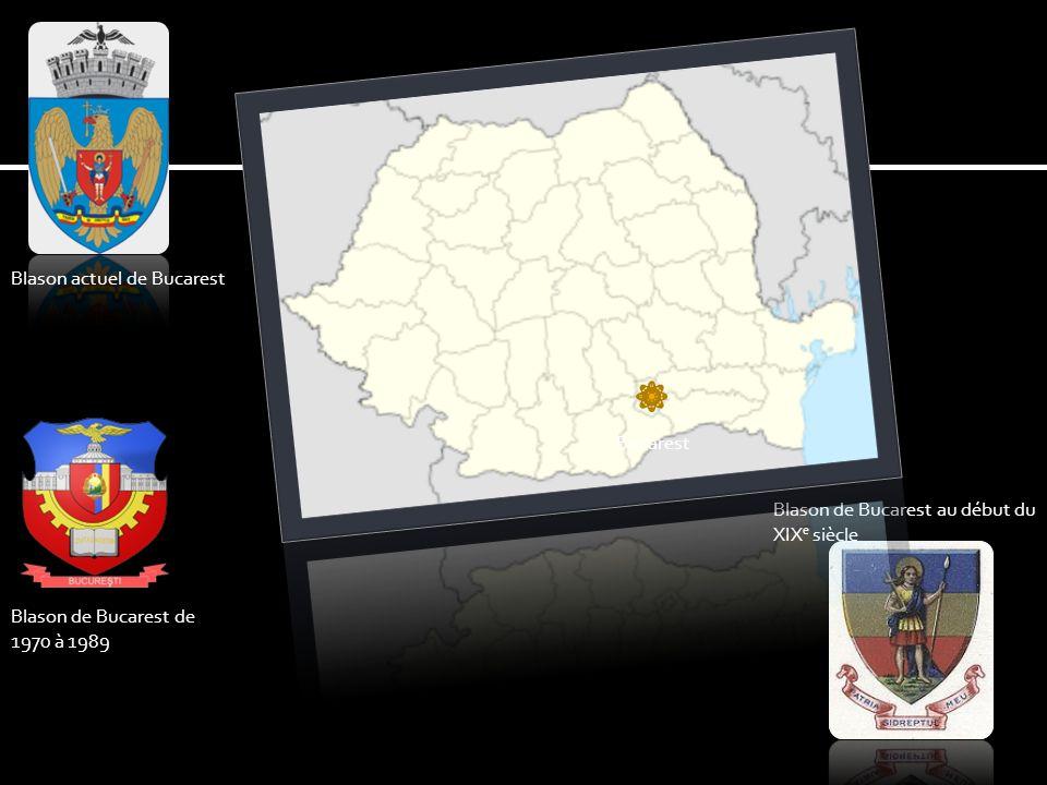 Blason actuel de Bucarest