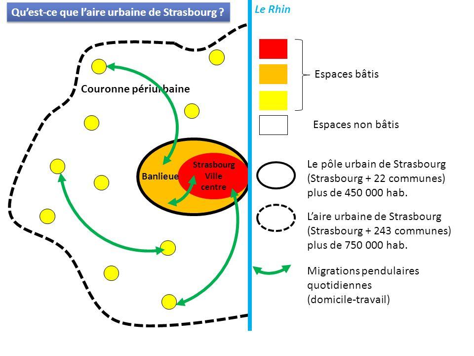 Qu'est-ce que l'aire urbaine de Strasbourg
