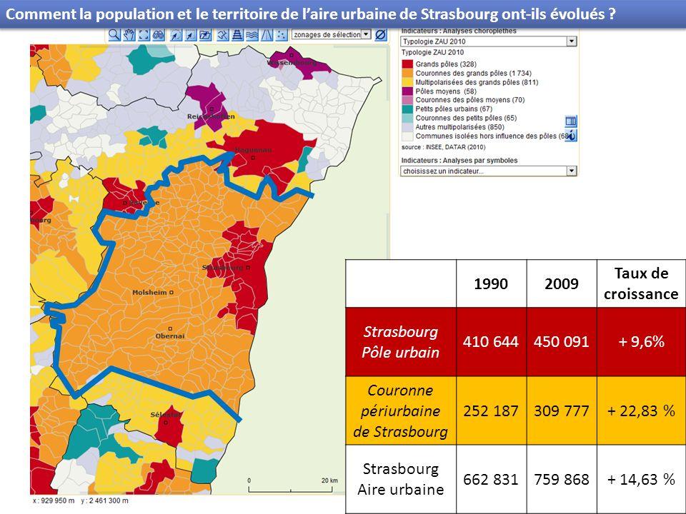 Couronne périurbaine de Strasbourg