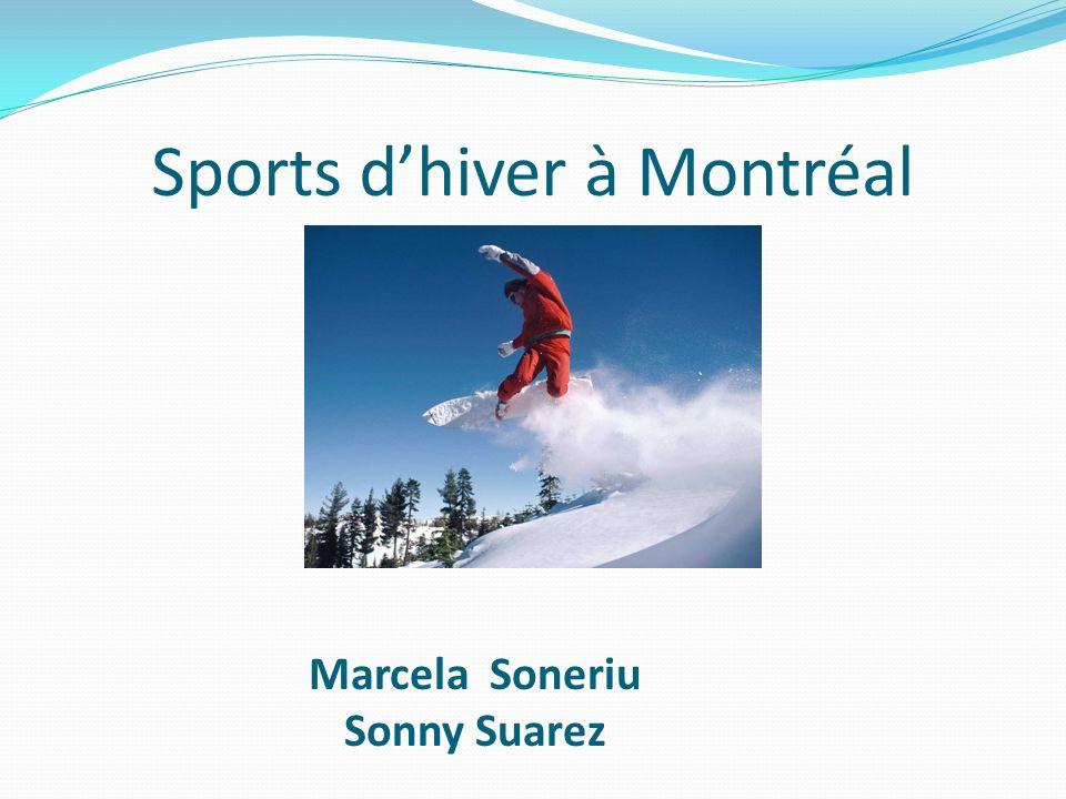 Sports d'hiver à Montréal