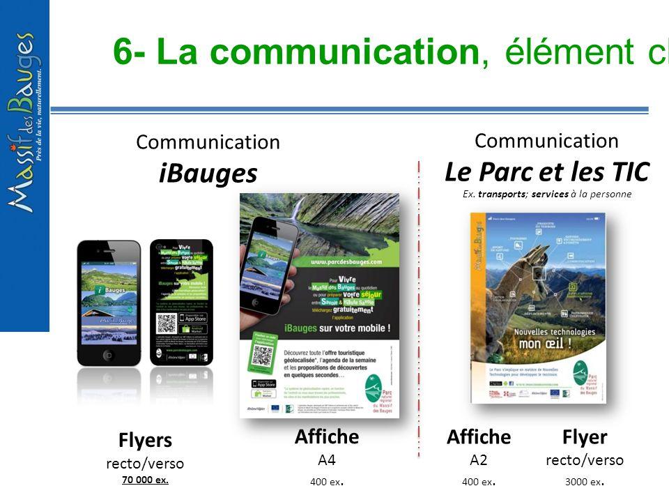 6- La communication, élément clé du projet