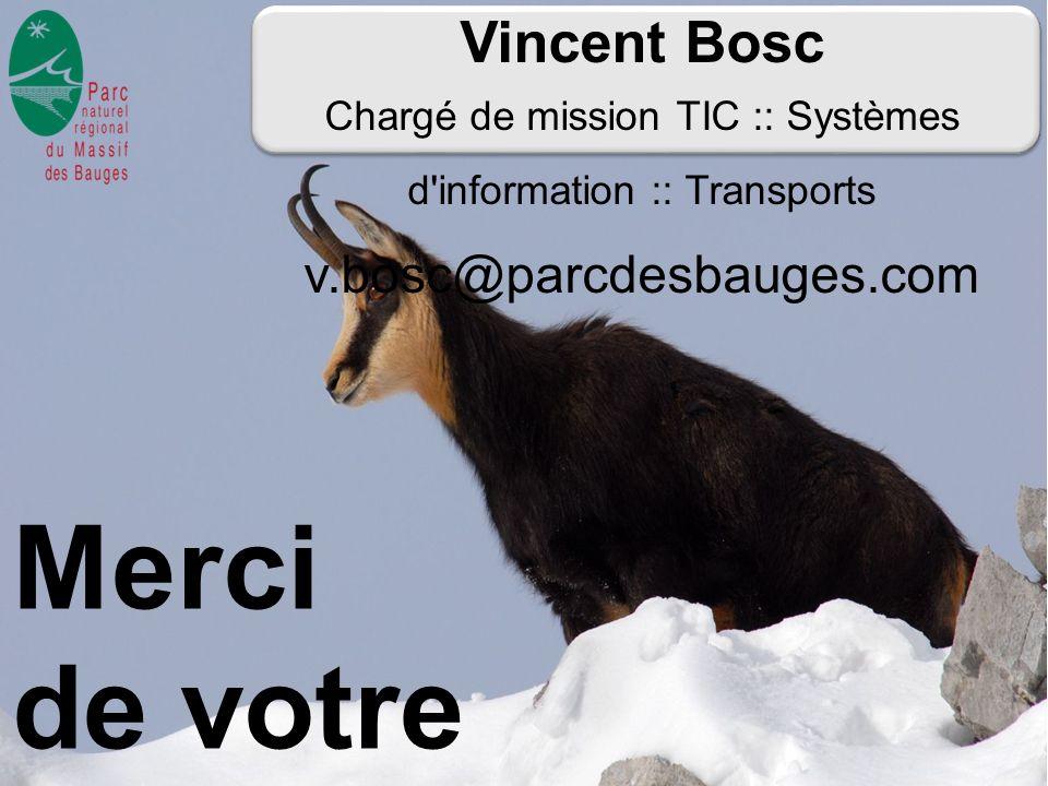 Chargé de mission TIC :: Systèmes d information :: Transports