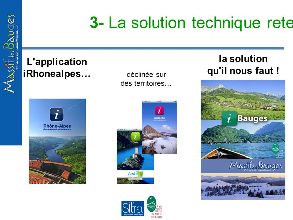 3- La solution technique retenue