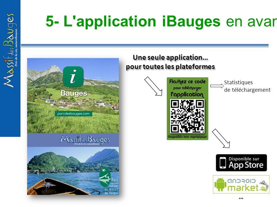5- L application iBauges en avant première !