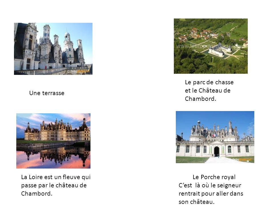 Le parc de chasse et le Château de Chambord.