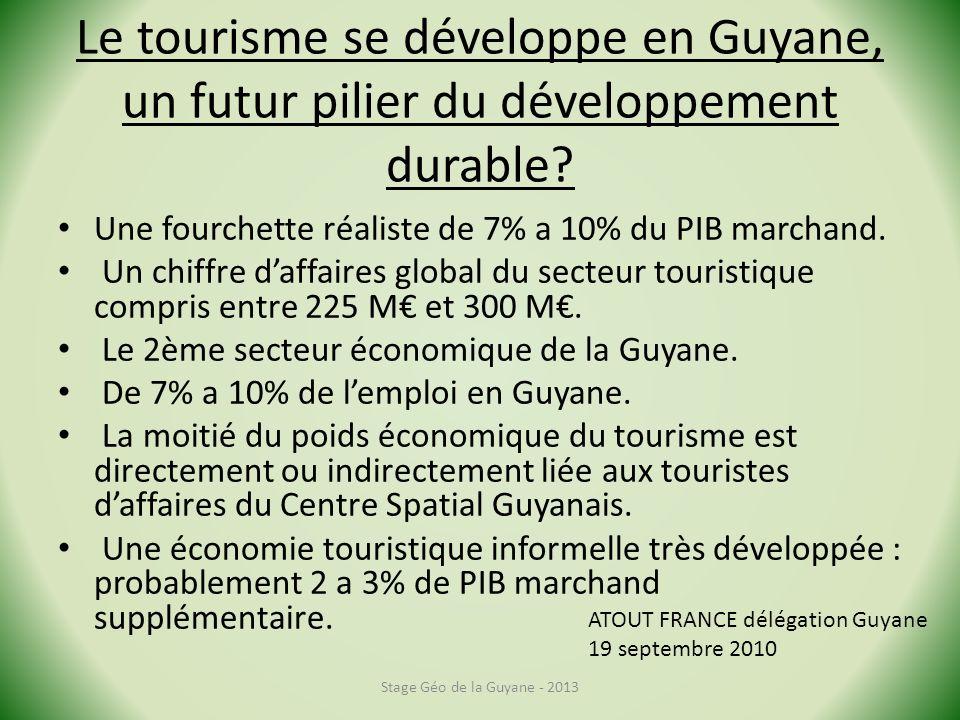 Le tourisme se développe en Guyane, un futur pilier du développement durable