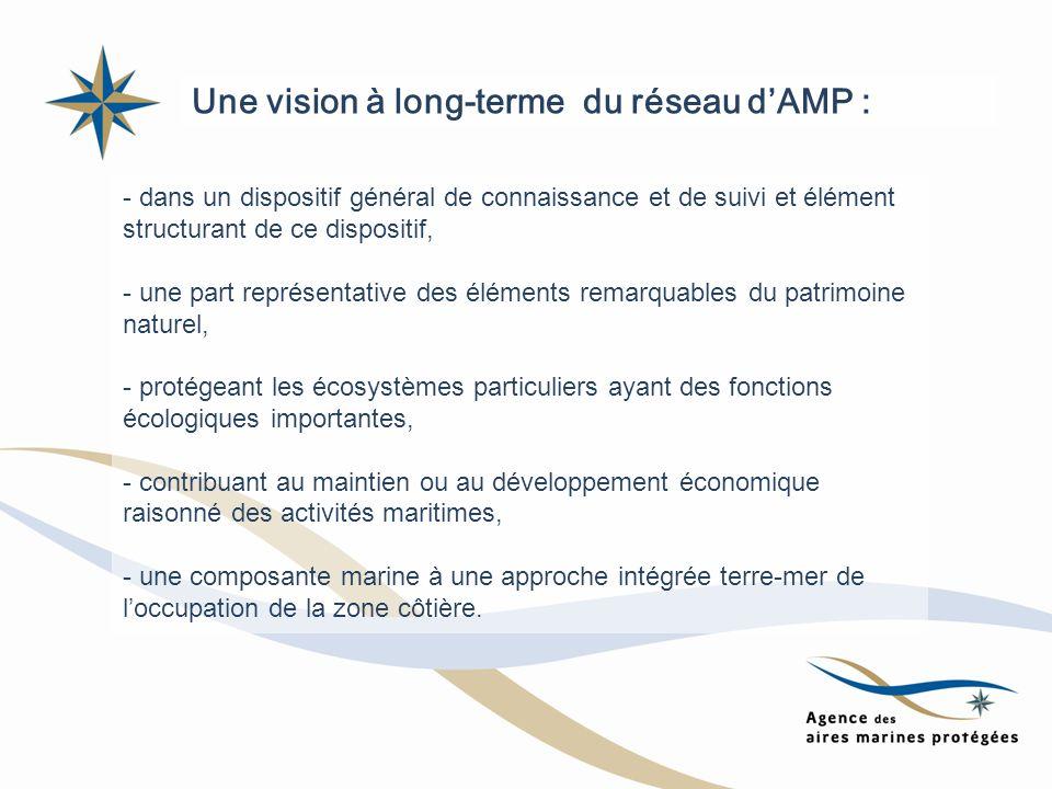 Une vision à long-terme du réseau d'AMP :
