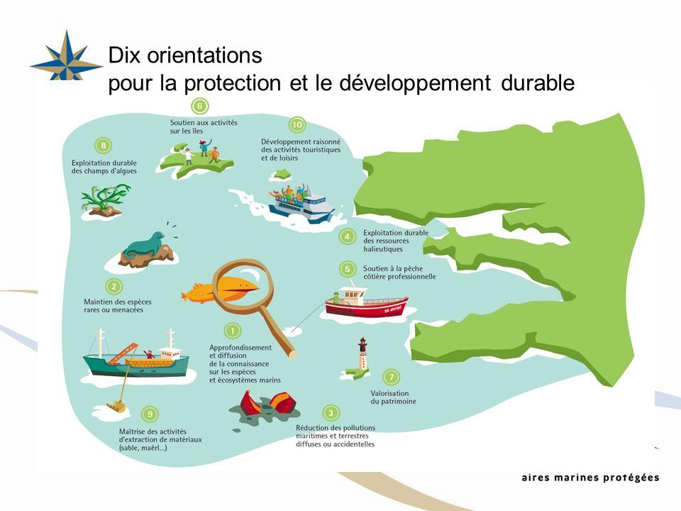 Dix orientations pour la protection et le développement durable