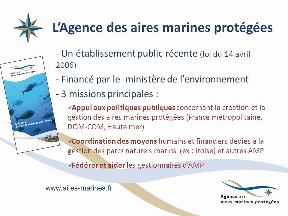 L'Agence des aires marines protégées