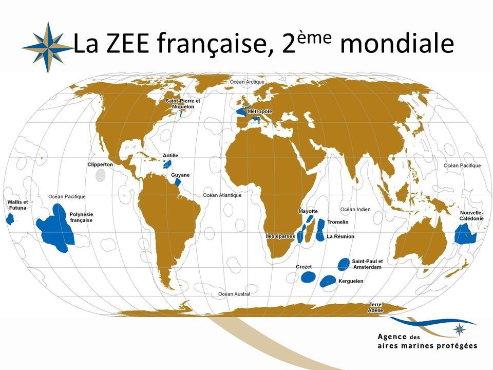 La ZEE française, 2ème mondiale