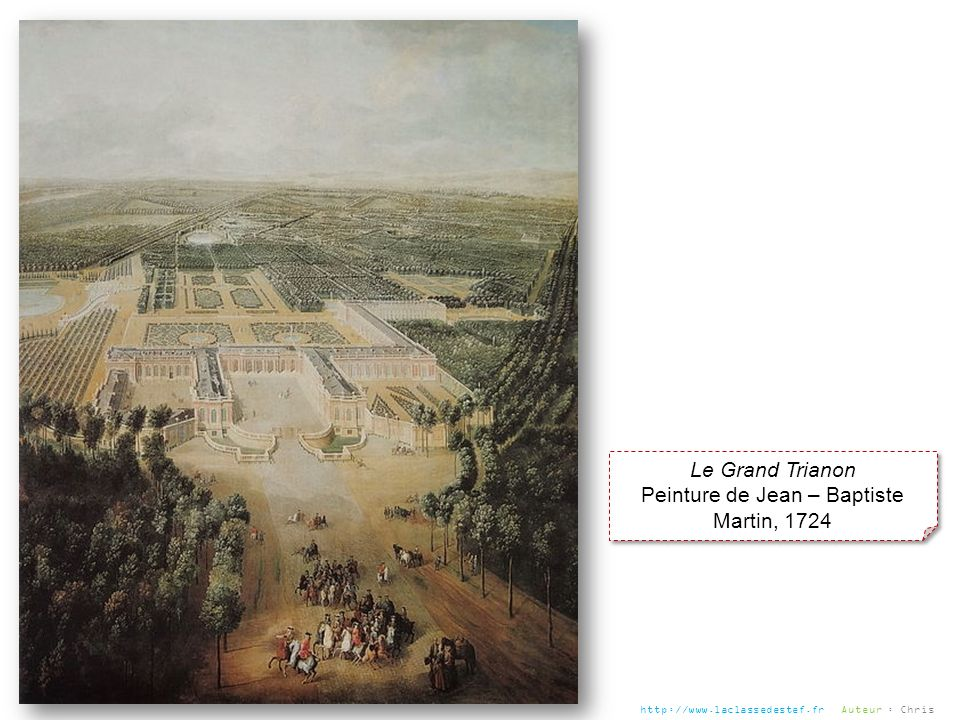 Peinture de Jean – Baptiste Martin, 1724