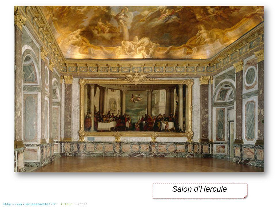 Salon d'Hercule http://www.laclassedestef.fr Auteur : Chris