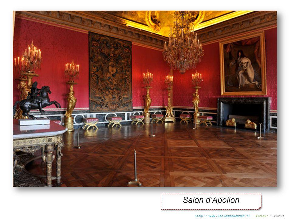 Salon d'Apollon http://www.laclassedestef.fr Auteur : Chris