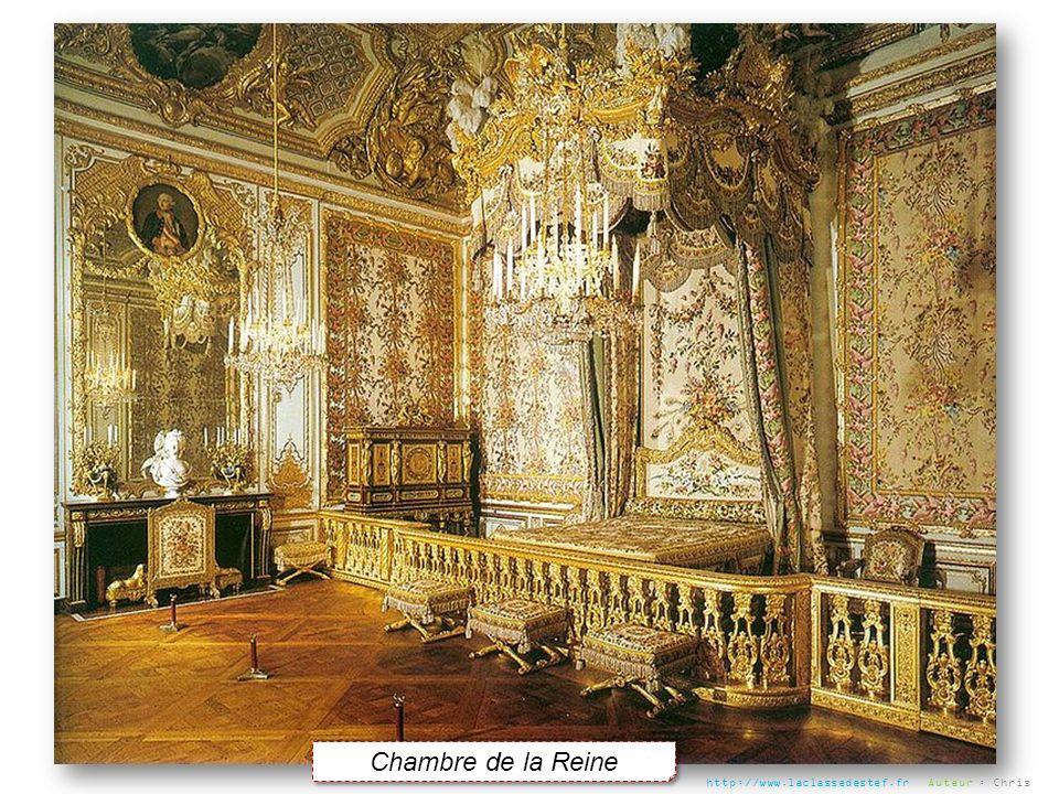 Chambre de la Reine http://www.laclassedestef.fr Auteur : Chris