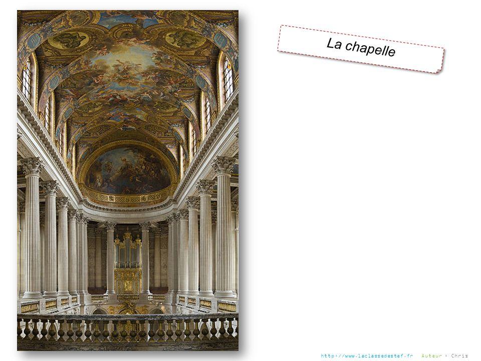 La chapelle http://www.laclassedestef.fr Auteur : Chris