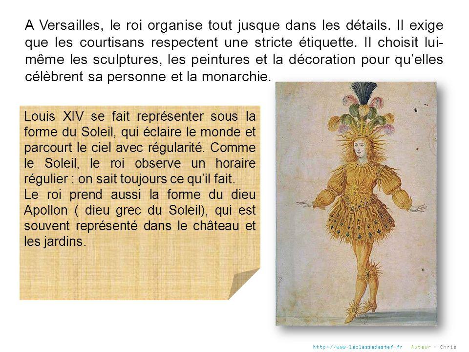 A Versailles, le roi organise tout jusque dans les détails