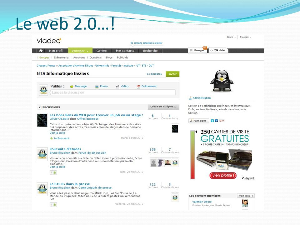 Le web 2.0…!