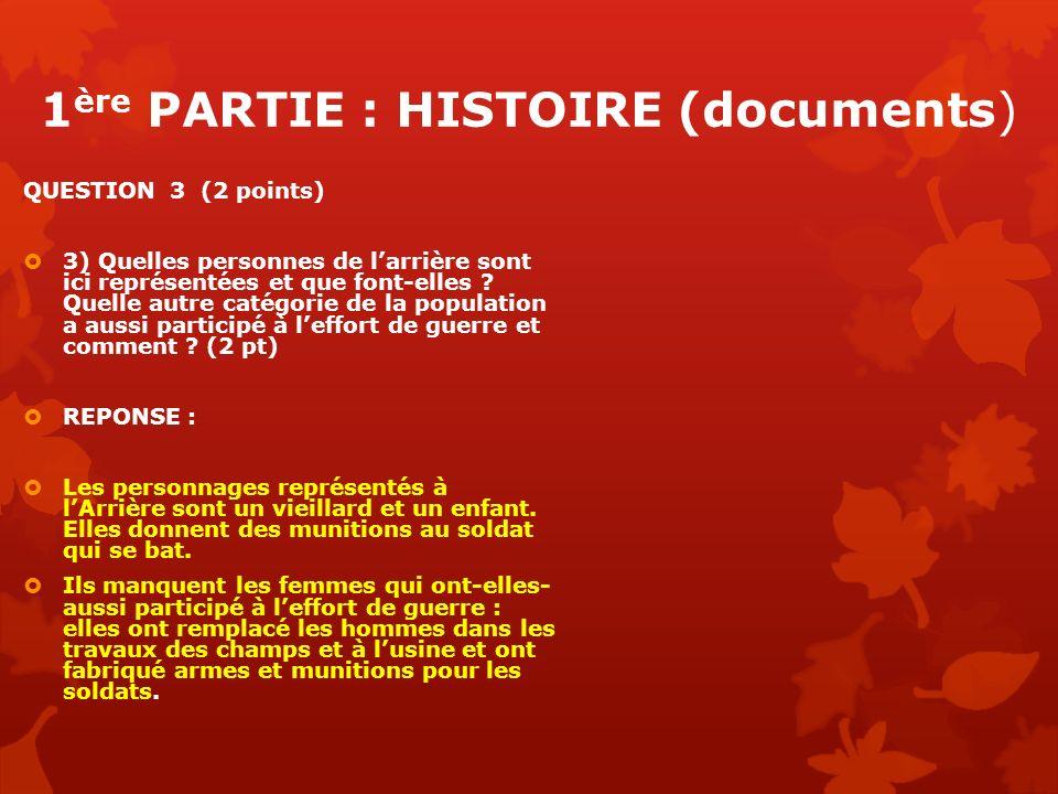 1ère PARTIE : HISTOIRE (documents)