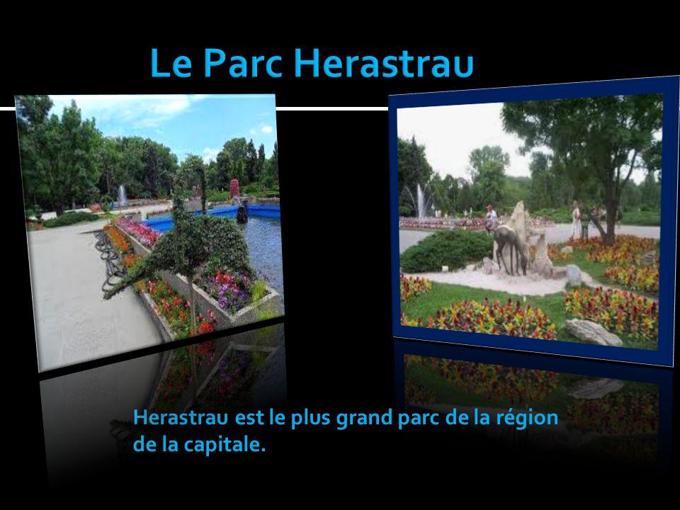 Le Parc Herastrau Herastrau est le plus grand parc de la région de la capitale.