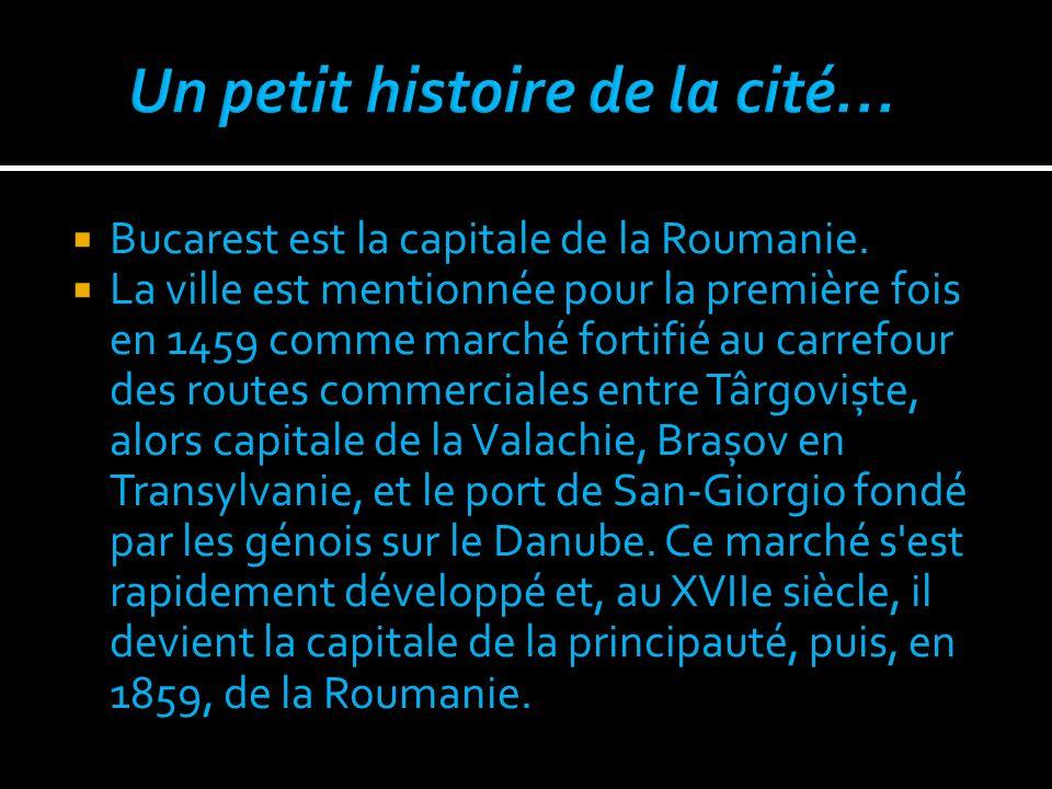 Un petit histoire de la cité…