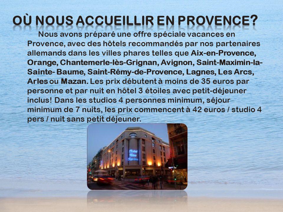 Où nous accueillir en Provence