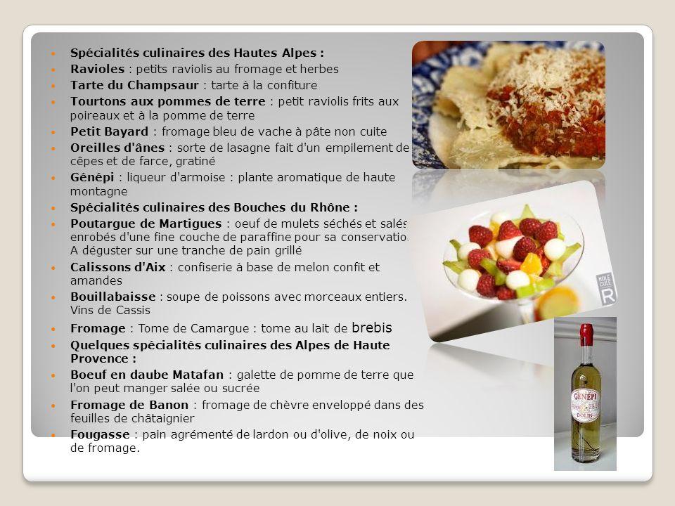 Spécialités culinaires des Hautes Alpes :