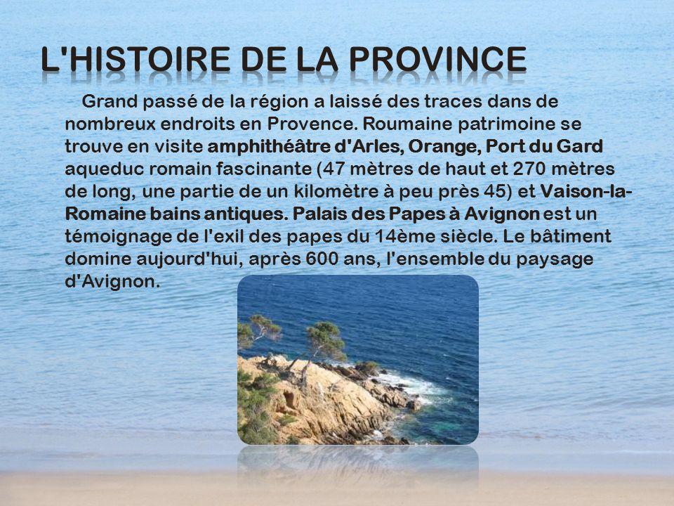 L histoire de la Province