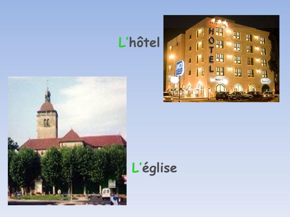 L'hôtel L'église