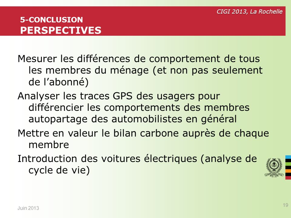5-conclusion Perspectives