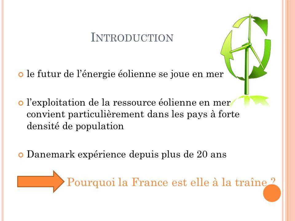 Introduction Pourquoi la France est elle à la traîne