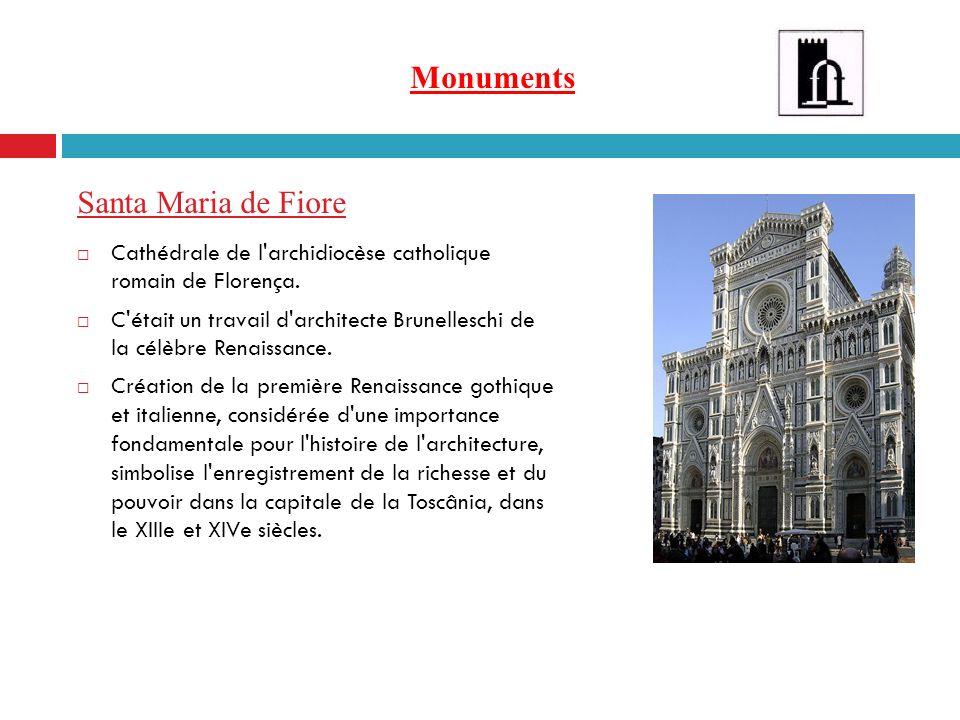 Monuments Santa Maria de Fiore