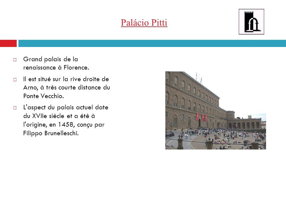 Palácio Pitti Grand palais de la renaissance à Florence.