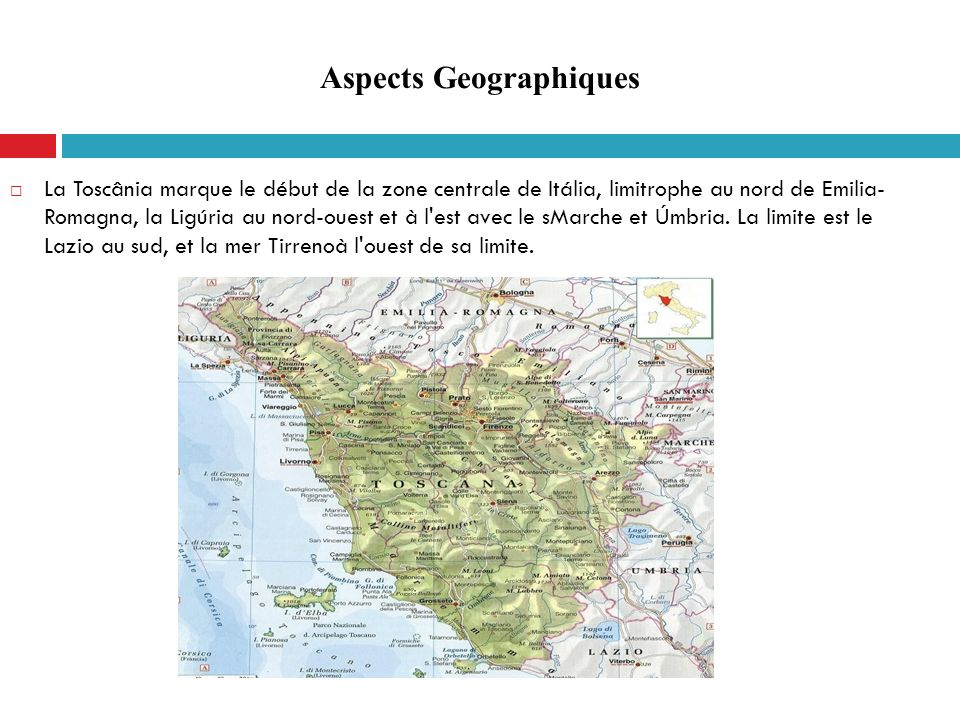 Aspects Geographiques