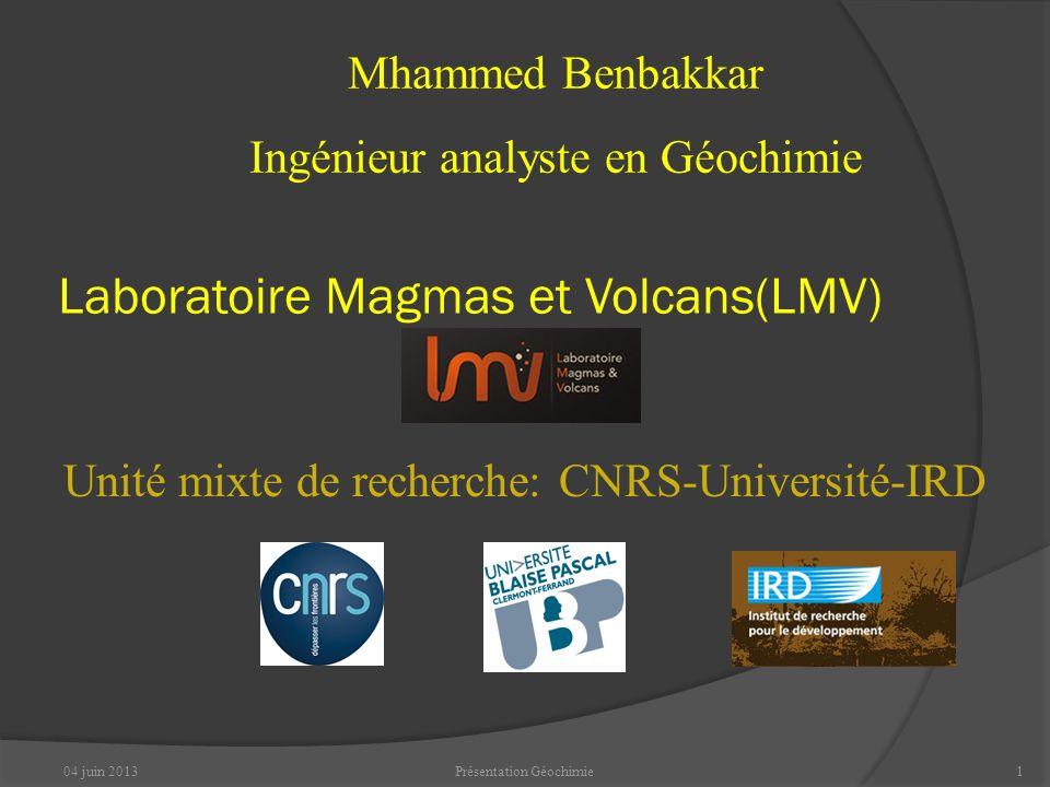 Laboratoire Magmas et Volcans(LMV)